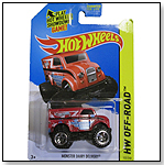 Hot Wheels 2014 Off-Road Daredevils Red Monster Dairy Delivery by MATTEL INC.