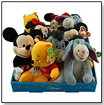 Disney Large Beanbag 9-10.5 Inches Plush With Hangtag by UNITED PRODUCT DISTRIBUTORS LTD