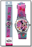Disney  Minnie Mouse Analog Watch with printed Band in Long PVC Box by UNITED PRODUCT DISTRIBUTORS LTD