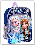 "Disney Frozen Anna & Elsa Sparkle 16"" Backpack by UNITED PRODUCT DISTRIBUTORS LTD"
