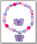 Great Pretenders Sparkle Butterfly Bracelet and Ring Set by CREATIVE EDUCATION OF CANADA