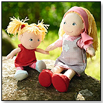 Lennja & Elin Doll Sisters by HABA USA/HABERMAASS CORP.