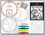 Creativity for Kids Blow Pen Stencil Kit by FABER-CASTELL
