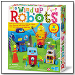 4M Wind up Robots by TOYSMITH