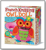 4M French Knitting Owl Doll by TOYSMITH
