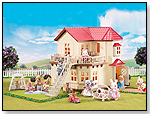 Calico Critters Cloverleaf Townhome by INTERNATIONAL PLAYTHINGS LLC