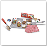 Slice and Bake Cookie Set - Wooden Play Food by MELISSA & DOUG