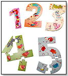 Lilliputiens 12345 Numbers Puzzle by HABA USA/HABERMAASS CORP.