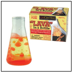 Lava in a Bottle by GEOCENTRAL
