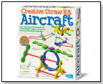 4M Creative Straw Kits - Aircraft by TOYSMITH