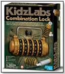 4M Kidz Labs - Combination Lock by TOYSMITH