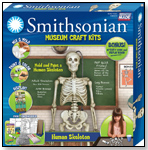 Smithsonian Human Skeleton Casting Kit by SKULLDUGGERY
