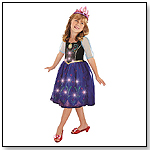 Disney Frozen Musical Light up Dress - Anna by CREATIVE DESIGNS INTERNATIONAL LTD.