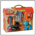 B. Critter Clinic Toy Vet Play Set by BATTAT INC.