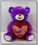 Valentines' Dreamy Lavender Bear by ADC Yangzhou Hongchang Arts and Crafts Co.,Ltd