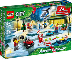 LEGO City Advent Calendar 60268 Playset - 6 City Adventures by LEGO