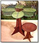 Jungle Table Set by TEACUP TABLES LLC