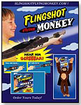 Flingshot Flying Monkey by PLAYMAKER TOYS