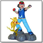 Ash and Pikachu Limited Edition Statue by Hard Hero by POKEMON USA