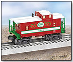 O-Gauge Christmas Caboose by LIONEL ELECTRIC TRAINS