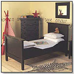 Dick Twin Bed - Black by BRATT DECOR